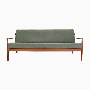 Dänisches Mid-Century Modell 300-109 Sofa mit Gestell aus Teak von Arne Vodder, 1960er