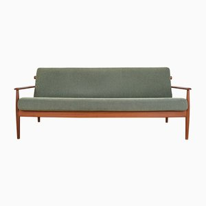 Mid-Century Danish Model 300-109 Teak Sofa by Arne Vodder, 1960s