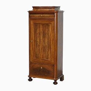Antique Walnut Drinks Cabinet