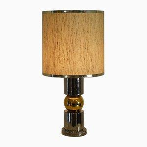 Italian Ceramic Table Lamp from Ceramiche Zaccagnini, 1960s