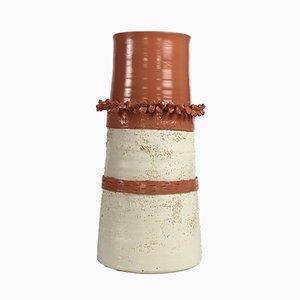 Vaso nr. 27 in terracotta di Mascia Meccani per Meccani Design