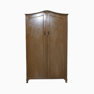 Large Antique Walnut Wardrobe