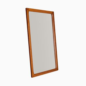 Model 163 Teak Mirror by Kai Kristiansen for Aksel Kjersgaard, 1960s
