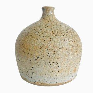 Vintage Sandstone Vase by Gustave Tiffoche, 1970s
