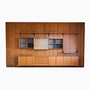 Large Teak Shelving System Set by Poul Cadovius for Cado, 1950s