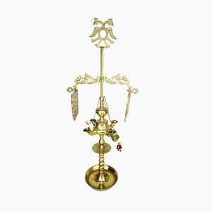 Antique Spanish Renaissance Oil Lamp