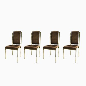 Dining Chairs by Romeo Rega, 1970s, Set of 4