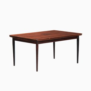 Vintage Danish Rosewood Dining Table by Arne Vodder for Sibast, 1960s