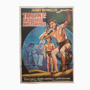 Spanisches Filmplakat Tarzan in the Mysterious Desert, 1971