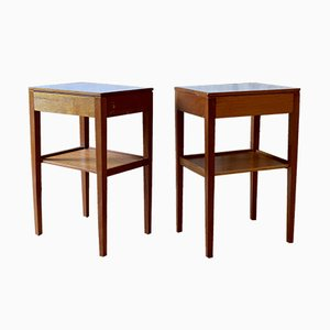 Teak Bedside or Occasional Tables from Remploy, 1950s, Set of 2