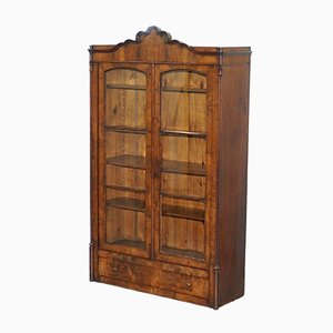 Regency Mahogany Arched Top Bookcase, 1810s
