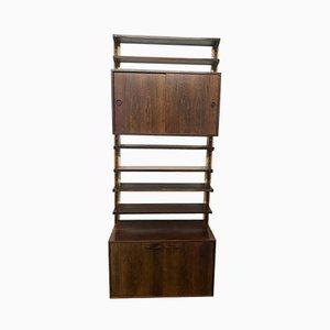 Rosewood Modular Shelving System by Kai Kristiansen, 1960s