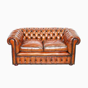 English Chesterfield Club Sofa, 1930s