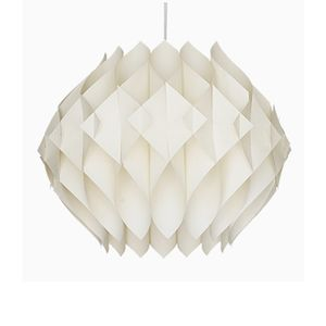 Danish Acrylic Butterfly Pendant Light by Lars Shiøler for Høyrup Lighting, 1960s