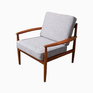 Mid-Century Danish Model 118 Armchair by Grete Jalk for France & Son, 1950s