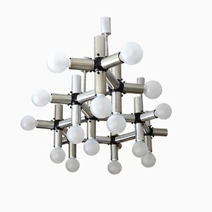 Mid-Century Chandelier by Robert Haussmann for Swiss Lamps, 1970s