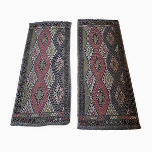 Vintage Turkish Rugs, 1970s, Set of 2
