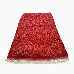Weicher türkischer Vintage Teppich aus Angorawolle