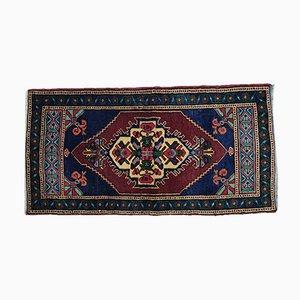 Türkischer Vintage Wollteppich