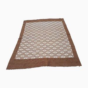Türkischer Vintage Teppich in Ziegenfell-Optik
