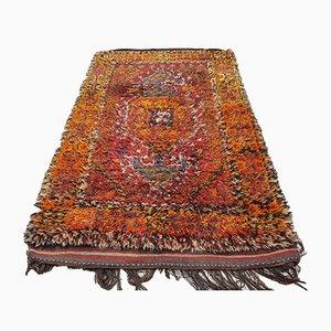 Türkischer Vintage Teppich aus Angorawolle