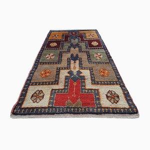 Kleiner Teppich aus Angorawolle, 1980er