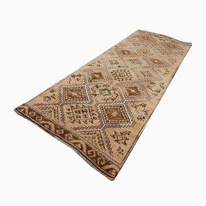 Turkish Oushak Carpet Runner, 1970s