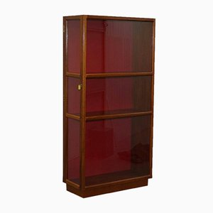 Vintage Mahogany Shop Display Cabinet