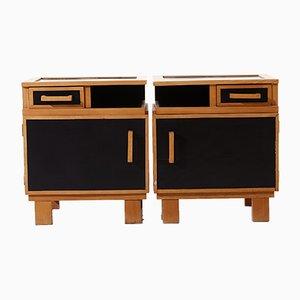 Vintage Bedside Cabinets by Alvar Aalto, Set of 2