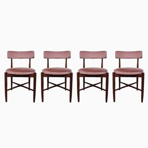 Mid-Century Scandinavian Teak Dining Chairs from G-Plan, Set of 4
