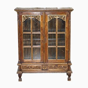 Hand-Carved Antique French Cabinet