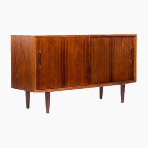 Vintage Danish Rosewood Sideboard by Carlo Jensen for Hundevad