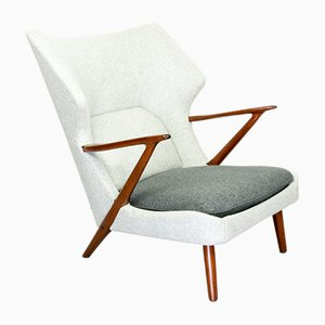 Lounge Chair by Kurt Olsen for Slagelse Mobelvaerk, 1950s