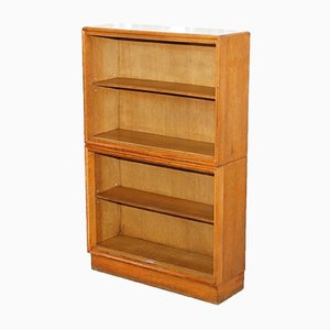 Mid-Century Light Oak Stacking Bookcase from Meredew, 1950s