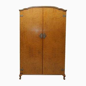 Mid-Century His & Hers Kleiderschrank aus Nusswurzelholz von Heirloom Furniture