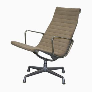 Hopsack Swivel EA 116 Lounge Armchair by Vitra Eames for Herman Miller, 1958