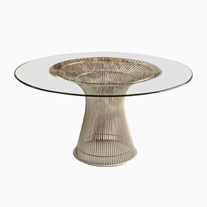 Dining Table by Warren Platner for Knoll, 1980s