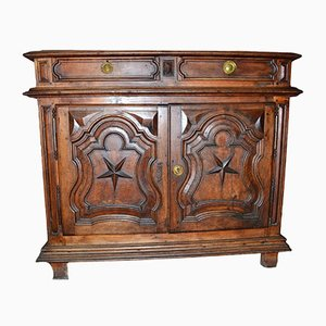 Louis XIV Style Walnut Buffet, 1730s