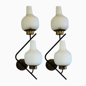 Lámpara de pared vintage, años 50