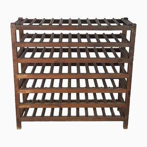 Botellero para vinos victoriano de madera