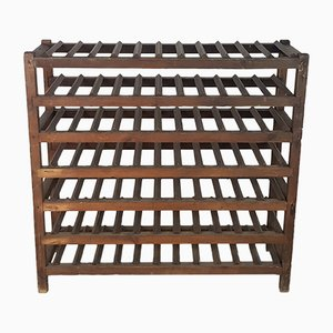 Victorian Wooden Wine Rack