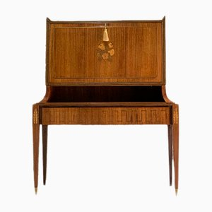 Mid-Century Italian Maple Secretaire by Pier Luigi Colli & Giovanni Gariboldi, 1960s