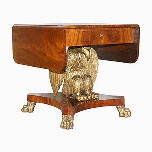 Swedish Biedermeier Eagle Sofa Table, 1850s