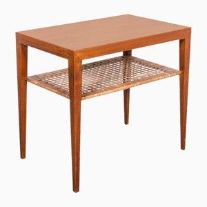 Tavolino Mid-Century di Severin Hansen per Haslev, anni '60