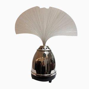 Tischlampe in Brunnen-Optik von BMF, 1960er