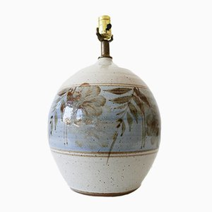 Grande Lampe de Bureau en Grès de California Ceramic Company, 1970s