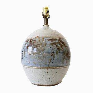 Große Tischlampe aus Steingut von California Ceramic Company, 1970er