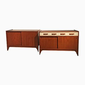 Italian Sideboards, 1960s, Set of 2