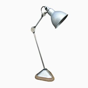 206 Nickeled Lamp by Bernard Albin Gras for Ravel Clamart, 1921