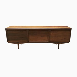 Italian Walnut Sideboard by Gianfranco Frattini for Bernini, 1957